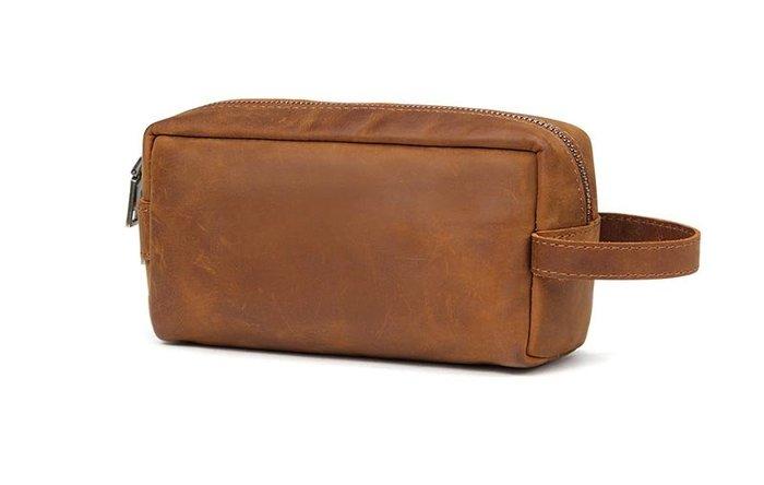 【 FQ包包】 皮夾 長夾 真皮皮夾 手拿包 頭層牛皮 瘋馬皮 男女適用 復古造型 JY 6366