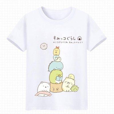 角落生物短袖T恤可愛貓咪白熊企鵝炸豬排二次【優選生活】