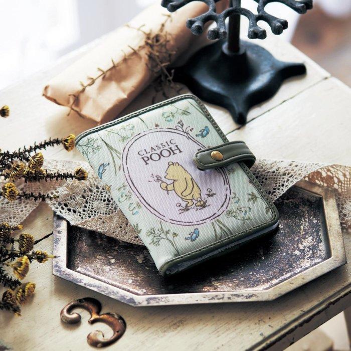 迪士尼Disney《預購》40張卡片包信用卡包~米奇 維尼~共2款~日本正品~心心小舖春
