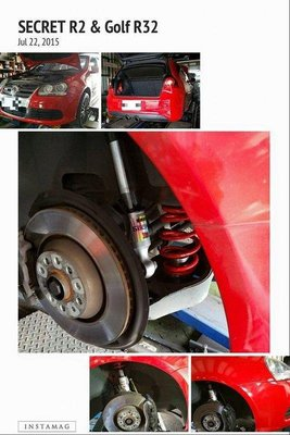 遠鵬國際Secret手工訂製避震器 Golf R32 GTI Beetle Scirocco PASSAT PLUS