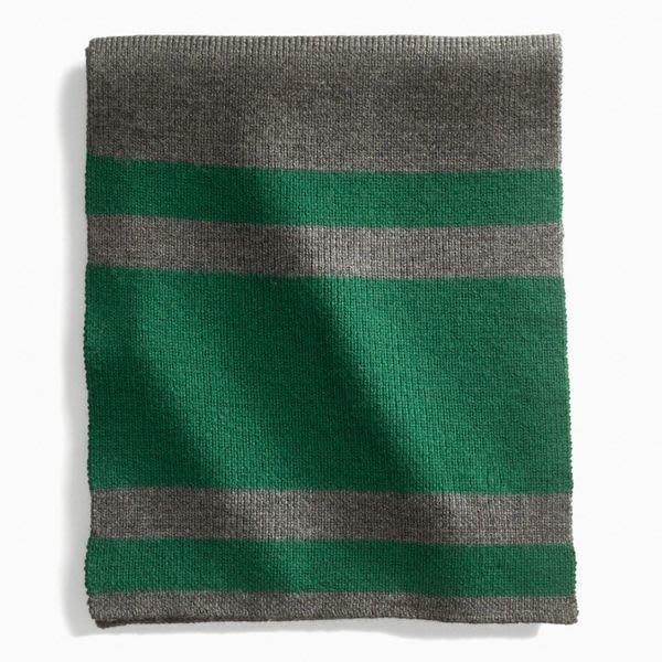 大降價!全新 COACH MEN 灰色綠色年輕經典款100%美麗諾羊毛圍巾,低價起標無底價!本商品免運費!