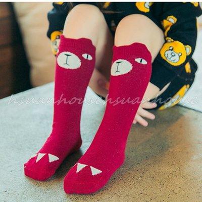 小熊 熊熊 兒童 中筒襪 童襪 棉襪 ...