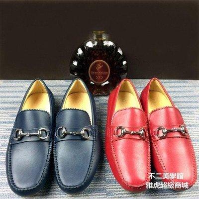 【格倫雅】~秋男鞋豆豆鞋英倫真皮休閑鞋套腳男駕車鞋3663[g-l-y49