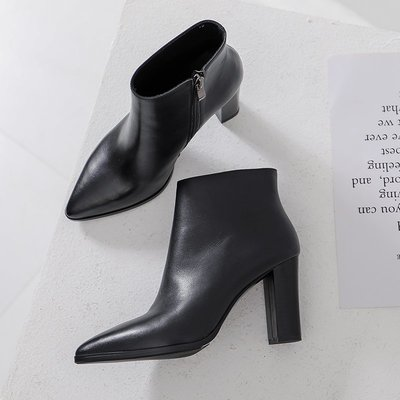 Fashion*爆款主推!高跟裸靴 尖...