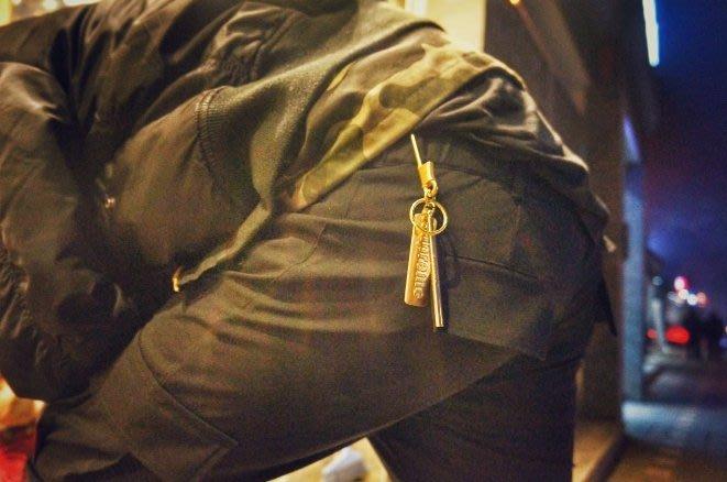 supreme純銅純手工鑰匙扣車鑰匙扣裝逼神器