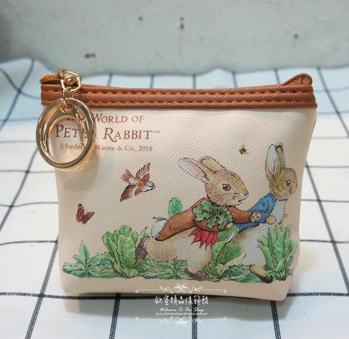 ~*歐室精品傢飾館*~Peter Rabbit 彼得兔 比得兔 鄉村風格 跑兔 零錢包 錢包 鑰匙包 ~新款上市~