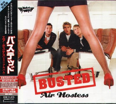 K - Busted - Air Hostess - 日版 CD+VIDEO - NEW