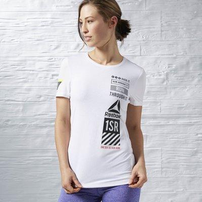 美國大衛 REEBOK RUNNING ELEVATED 排汗衫 運動T恤 女 美國空運 全新 現貨【S94254】