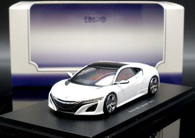 【M.A.S.H】絕版品特價 Ebbro 1/43 Honda NSX Concept Car 2013 white