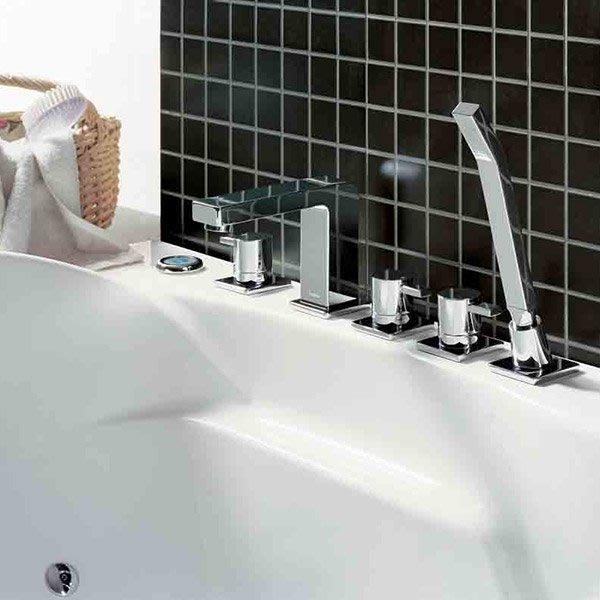 《101衛浴精品》BETTOR 諾亞系列 五件式 浴缸龍頭 FH 8115C-629 歐洲頂級陶瓷閥芯【免運費】