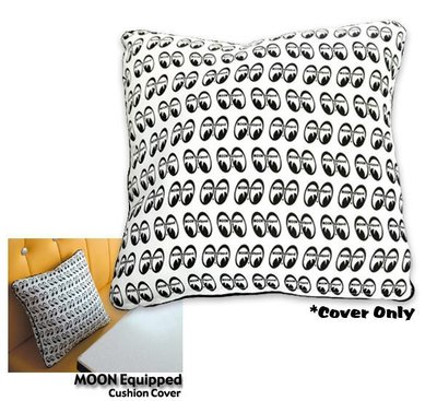 (I LOVE樂多)MOON Equipped Cushion CoverLOGO抱枕/靠枕 家居車用實用又舒適