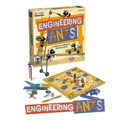 骰子人桌遊-螞蟻工程師 Engineering Ants (繁) STEM.合作對抗.