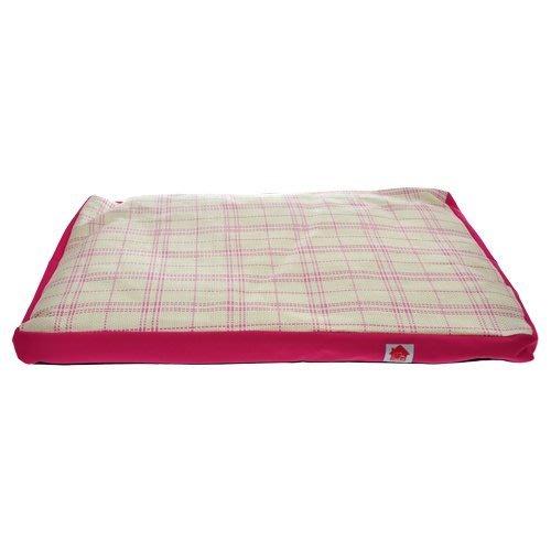 【寵物王國-貓館】PeiCiPET寵物涼夏草蓆墊(64x43x5.5cm)-粉紅色/粉藍色