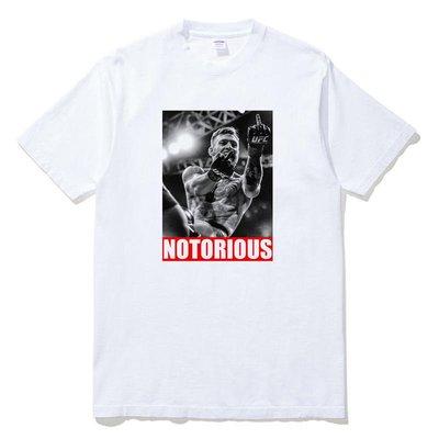 Conor McGregor Notorious Finger 短袖T恤 2色 巨星UFC拳擊