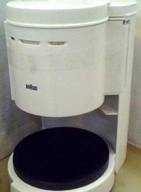 德國 百靈 咖啡機 咖啡壺  BRAUN  白色  4人 0.4L(KF-10 KF10) 缺玻璃壺