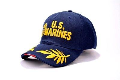 {Korinne's Shop } 滿400(超商純取貨)免運美國海軍陸戰隊U.S. MARINES精緻刺繡棒球帽軍迷