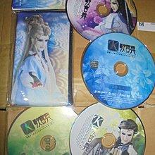 霹靂K歌寶典4張裸片無盒CD(微刮痕)+多功能手機收納包零錢小物袋合售 商品如圖