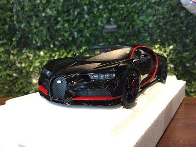 1/18 AUTOart Bugatti Chiron 2017 Black 70991【MGM】