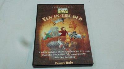 【彩虹小館ZZZ】CD~名家有聲繪本一口代書系列 TEN IN THE BED
