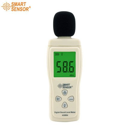 【玩具貓窩】AS804數字噪音計 手持噪音分貝儀 分貝計 聲音計 噪音測試儀