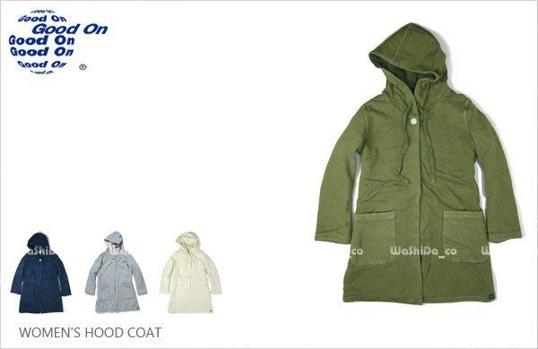 WaShiDa【gobw1608p】Good On 日本品牌 女裝 長版 大衣 外套 罩衫 斗篷 兜帽