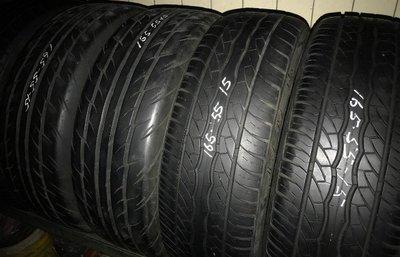 中古輪胎 165/55/15 165/55-15 現金完工價一條500元