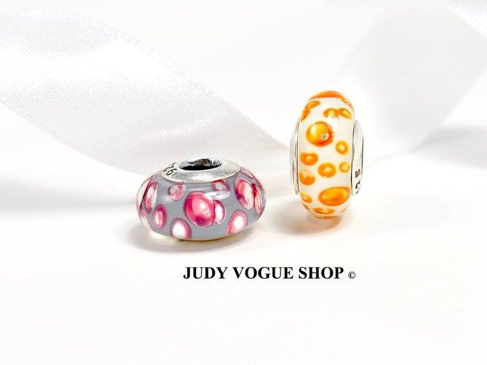 韓國 Murano charms 知性野豹紋琉璃珠 精品琉璃珠 JUDY VOGUE SHOP【JMB-0001】