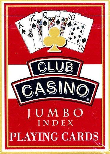 【意凡魔術小舖】大字牌 大字體的JUMBO INDEX club casino