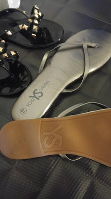 YOSI SAMRA Y's 小羊皮低跟拖鞋 超軟墊