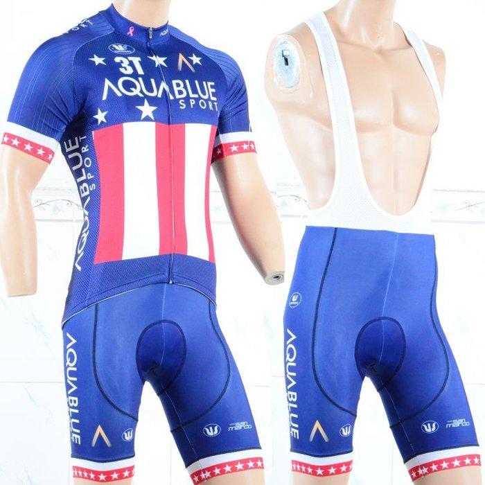 【綠色運動】18AQUABLUE自行車衣 腳踏車衣 車衣 車褲 自行車衣 腳踏車衣 車衣 車褲 吸濕排汗 萊卡透氣 套裝