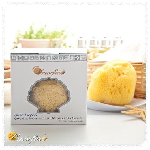 Omorfia 歐摩菲亞敏感肌洗臉專用希臘天然海綿 - 絲綢 3-3.5 吋