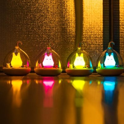 創意燈飾手提小夜燈充電移動氛圍臥室情趣晚上睡覺可愛小燈伴睡起WY