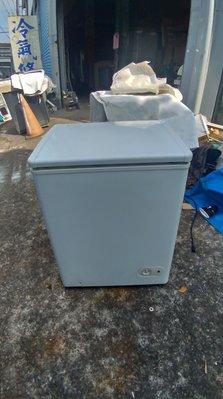 高雄屏東萬丹電器醫生 中古二手 上掀式冷凍櫃 自取價3999