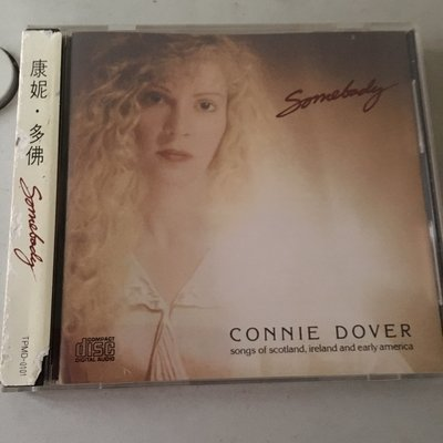 *愛樂熊貓*香港cd聖經Connie Dover康妮多佛Somebody偉人/早期日版(無IFPI)絕版