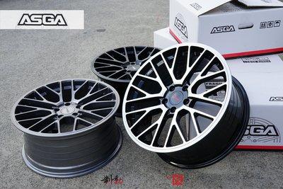 富特麗 ASGA ARF08 19吋旋壓輕量化 5x114.3 5x112 商檢檢驗 規格齊全 歡迎詢問 / 制動改