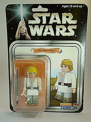 Star Wars Luke Skywalker Exhibit Kubrick 星際大戰 天行者路克