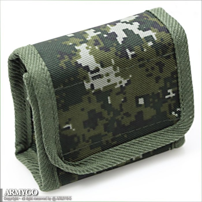 【ARMYGO】陸軍數位迷彩制式指北針雜物袋