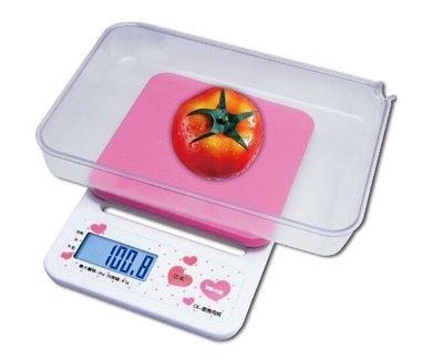 CK 廚房料理秤【2kg/ 0.1g】附贈長方型塑膠容器 適合烘焙 麵粉 咖啡豆 牛奶 水 電子秤 磅秤