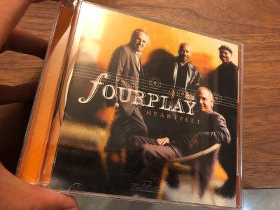 FOURPLAY HEARTFELT 爵士四人行 無刮痕 cd