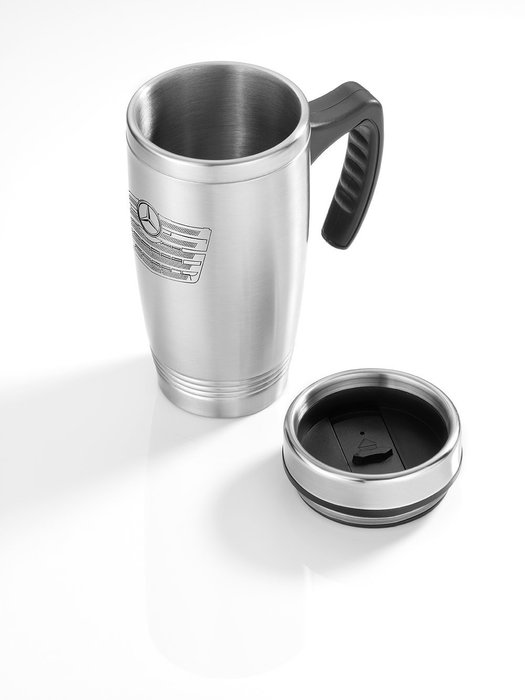 德國 Mercedes Benz 賓士 原廠不鏽鋼保溫瓶 保溫杯 隨手杯 水壺