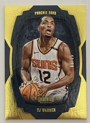 2018-19 Panini Dominion No.83 TJ Warren 06/25 Phoenix Suns