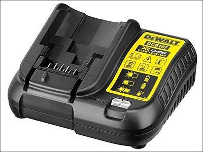 【哈囉五金】全新 公司貨 美國 DEWALT 得偉 10.8V-18V 快速充電式原廠充電器 DCB107 鋰電池充電器