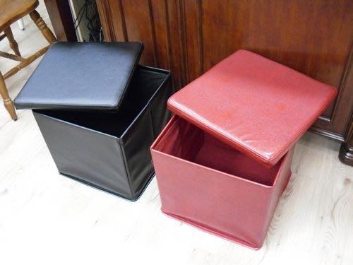 美生活館-- 限量沙發凳 內可收納當玩具箱穿鞋椅不始用也可折合--特優 688 元