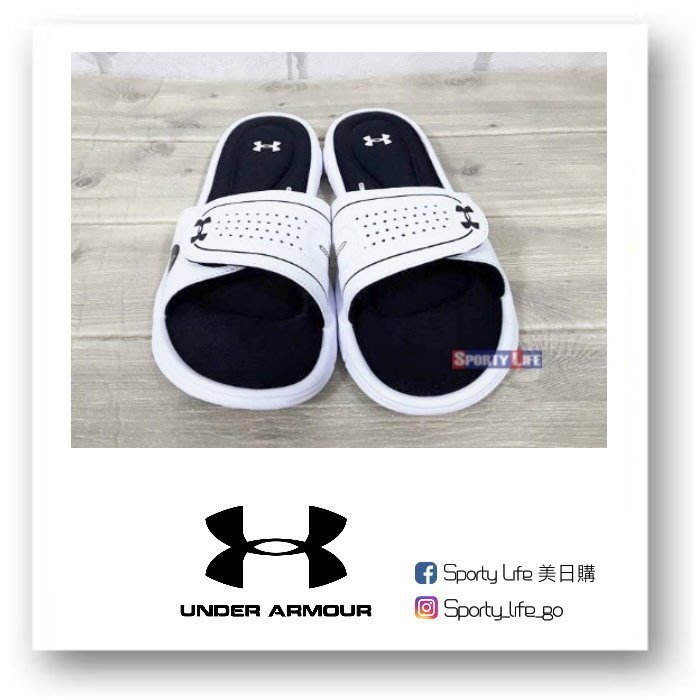 【SL美日購】UNDER ARMOUR IGNITE VII SLIDE 女版 拖鞋 白色 運動拖鞋 UA拖鞋 美國代購
