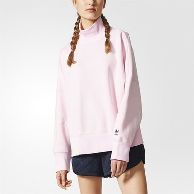 adidas Originals 愛迪達 三葉草 粉色 NMD 大學t 長袖t br9494/澤米(全館任二件商品免運)