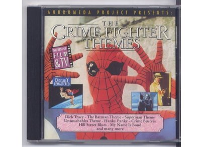 The Crime Fighter Themes~1990年無IFPI 片況絕佳