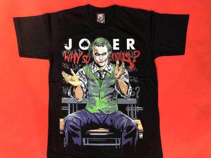 【小間搖滾】The Joker 小丑 ☆進口Rock搖滾ㄒ恤 (S M L XL)