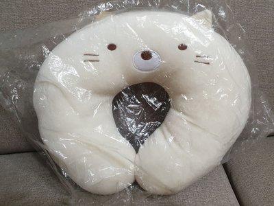 SAN-X正版 角落生物 貓咪護頸枕 汽車枕 全新品 套袋防塵收納 生日禮物 獎勵品 餽贈品