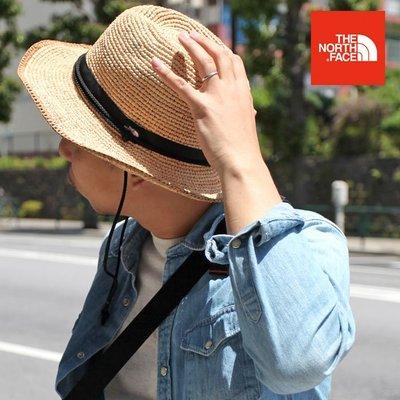 TSU 日本代購【THE NORTH FACE】NN01554  編織 草帽 帽子