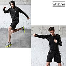 CPMAX 男速乾緊身運動套裝 健身服 運動外套 運動褲 五件套 緊身運動衣 跑步 運動套裝 訓練服 戶外運動服 O93